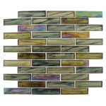 Nautical Garden – Oceania Brick Glass Series – Glazzio Glass Tile