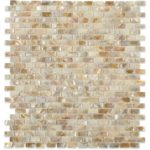 Freshwater Flat Mini Bricks – Pearl Glass Series- Soho Glass Tile