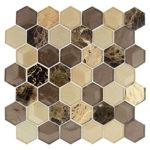 Wooden Hornet – Queen's Lair Glass Series – Glazzio Glass Tile