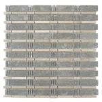 Lagos Azul + Lagos Gold – Skyline Glass Series- Glazzio Glass Tile