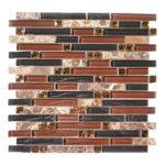 Wooden Chant – Symphony Glass Series – Glazzio Glass Tile