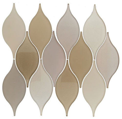Soft Harmony – Windchime Glass Series – Glazzio Glass Tile