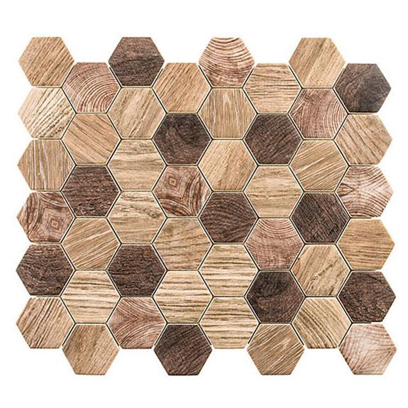 Western Redwood – Woodland Glass Series – Glazzio Glass Tile