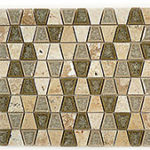Restful Sage – Tranquil Trapezoid Glass Series – Glazzio Glass Tile